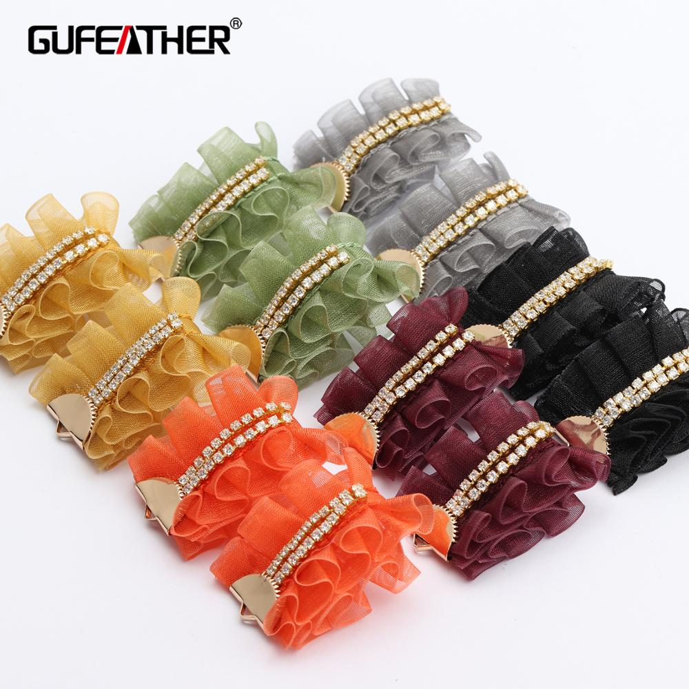 GUFEATHER L221,jewelry Accessories,diy Pendant,zircon,copper Metal,jump Ring,jewelry Findings,hand Made,jewelry Making,10pcs/lot