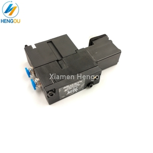 Image 3 - 1 Piece new solenoid valve FESTO MEBH 4/2 QS 4 SA M2.184.1111/05 for offset SM102 CD102 SM52 PM52 machine
