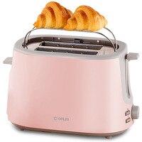 Donlim/DF DL 1701 Toaster Household 2 PCs Breakfast Stainless Steel Roast Toaster|Sandwich Makers|   -