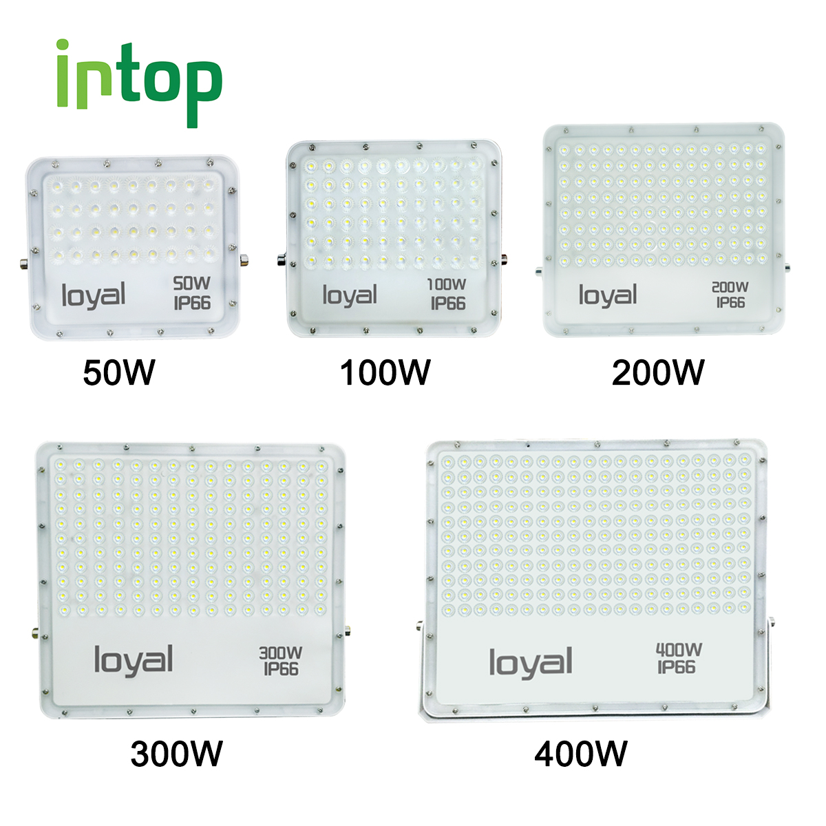 Led Wall Washer Flood Light Spotlight Floodlight Outdoor Lighting10W30W50W100W 150W200W300W400W Reflector Waterproof IP66 Garden