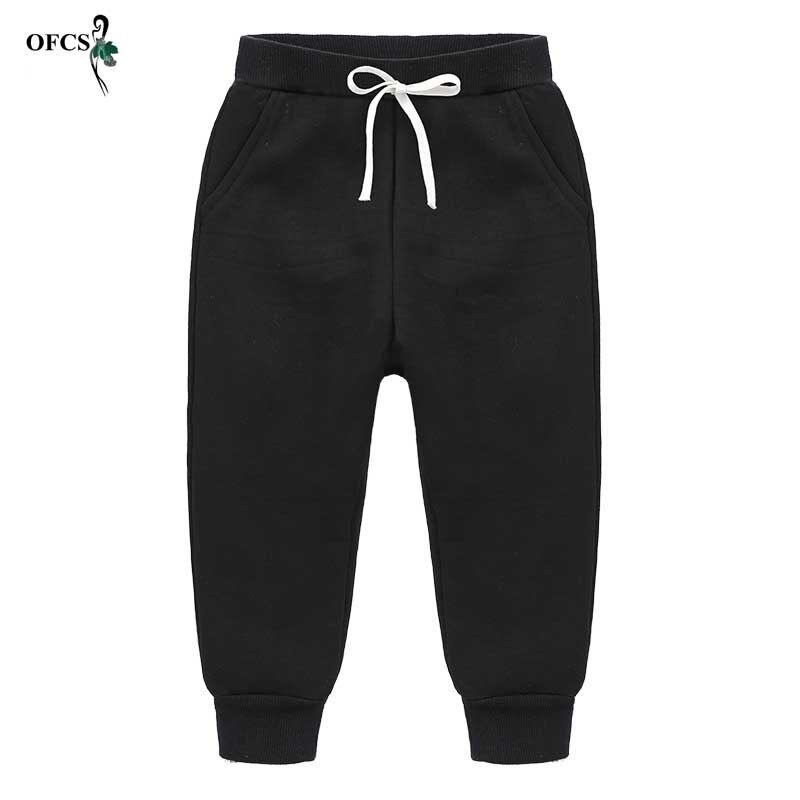 Pantalones Largos Deportivos Para Ninos Y Ninas Pantalon Informal De Terciopelo Grueso En 2 Colores Gris Y Negro Gran Oferta Para Invierno Pantalones Aliexpress