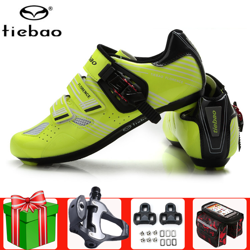 Professional Outdoor Road Cycling Shoes Men Athletic Bike Shoes Bicycle Sneakers