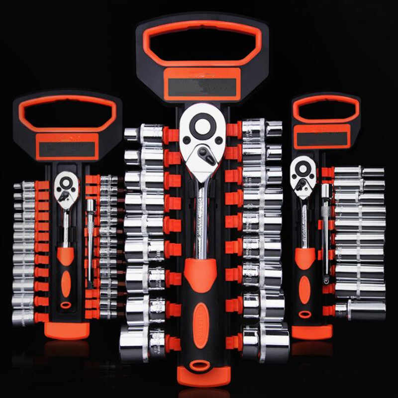 Torque And Ratchet Wrench Set Hand Spanners Universal Socket Wrench Tool Kit For Auto Repair Ferramentas Manuais Llave Carraca