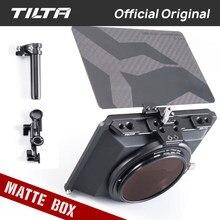 Tilta MB-T15 4*5.65 Mini Matte Box Carbon Fiber Top Flag For DSLR Mirrorless Camera A7 A6 Tiltaing Blackmagic BMPCC 4K 6K Cage