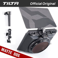Tilta MB-T15 4*5.65 Mini Matte Box for DSLR mirrorless camera Tiltaing lens hood accessories For Blackmagic BMPCC 4K 6K A7 A6