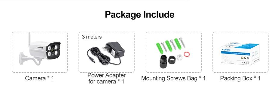 Hf00e3102671c48fc8c8bf19698fe13bdJ Techege HD 1080P Wireless SD Card Slot Audio IP Camera 2.0MP wifi Security Camera Night Vision Metal Waterproof Outdoor Camera