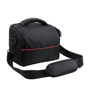Image 1 - Wodoodporny aparat nylonowy torba na ramię do przechowywania futerał do przenoszenia Canon EOS 77D 70D 80D 4000D 2000D 5D Mark IV III 60D 6D 7D