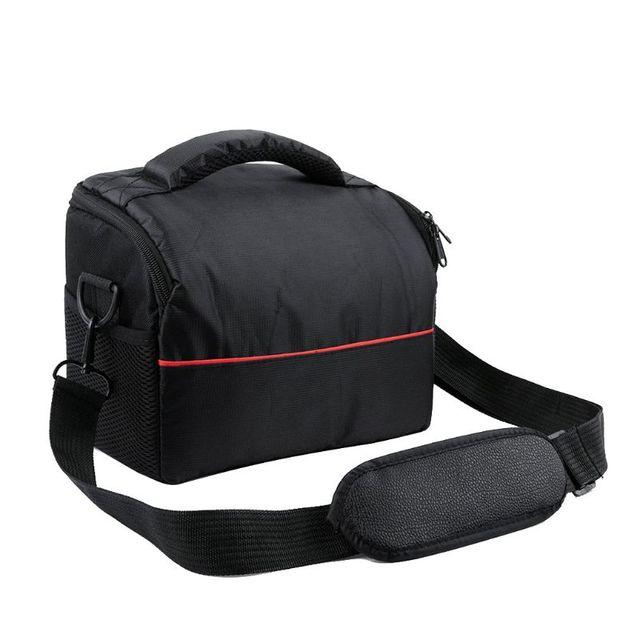 Wodoodporny aparat nylonowy torba na ramię do przechowywania futerał do przenoszenia Canon EOS 77D 70D 80D 4000D 2000D 5D Mark IV III 60D 6D 7D