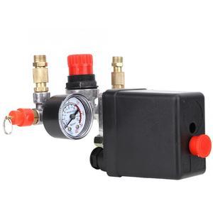 Image 5 - Автоматический клапан давления в сборе, 90 ~ 220 psi, для воздушного компрессора с одним отверстием, в, регулятор воздушного компрессора