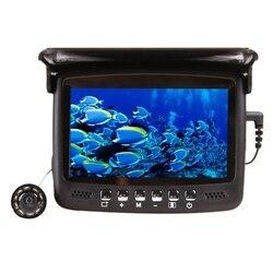 Underwater Fishing Camera 4.3 Inch HD LCD Fish Finder 8 LED Night Vision Video Camera 15M Visual Fish Finder (EU Plug )
