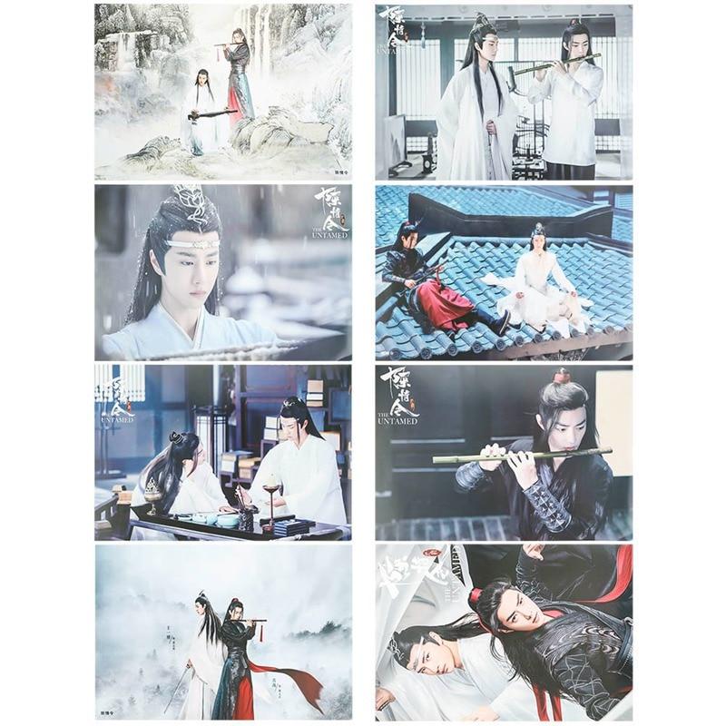 Размер 42*29 см Китайская древняя телевизионная драма Чэнь цинлинг звезда актер изображение Плакат настенный плакат постер для декорации