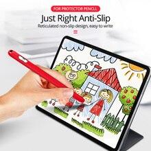 Stylus Pen Protective Cover for Ipad Pencil 1 Silicone Sleeve Case Non-Slip Nib Tip Cap
