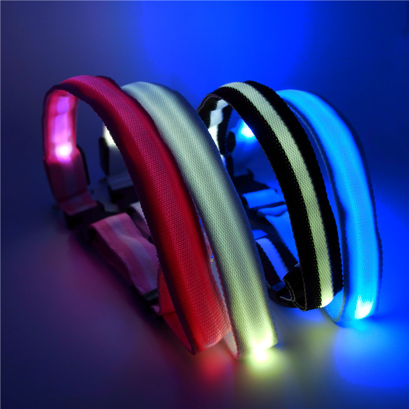 [Boutique Hot Selling] Pet Luminous Collar LED Shining Dog Chest Strap