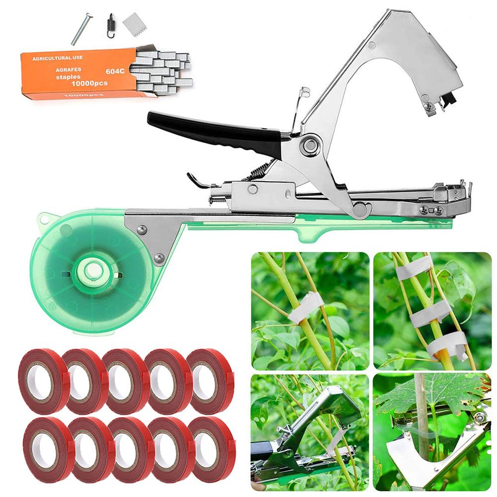 Plant Tying Machine Durable Convenient Tapener Tool Plant Agriculture Tape Tool For Fruit Flower Vegetable