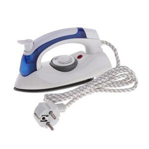 Mini Steam Iron Handheld Folding Travel Trip Accessory US/EU Plug White
