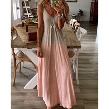 2019 Summer Women Colorful Spaghetti Strap Dress Boho V Neck Beach Long Party Dress Plus Size 3XL Maxi Dresses 2019 plus size party dresses women summer long maxi dress casual slim elegant dress bodycon female beach dresses for women 3xl