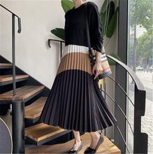 Платье для женщин в Корейском стиле Стиль винтажном с круглым