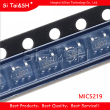10PCS MIC5219-3.3BM5 SOT23 MIC5219-3.3 LG33 MIC5219 SOT 3.3V SMD
