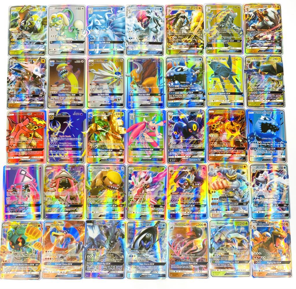 Лидер продаж 2020, блестящие карты покемонов Vmax, карточная игра, Боевая карта 60/100/200/300 шт., GX EX Мега, торговые карточки, игра, детская игрушка
