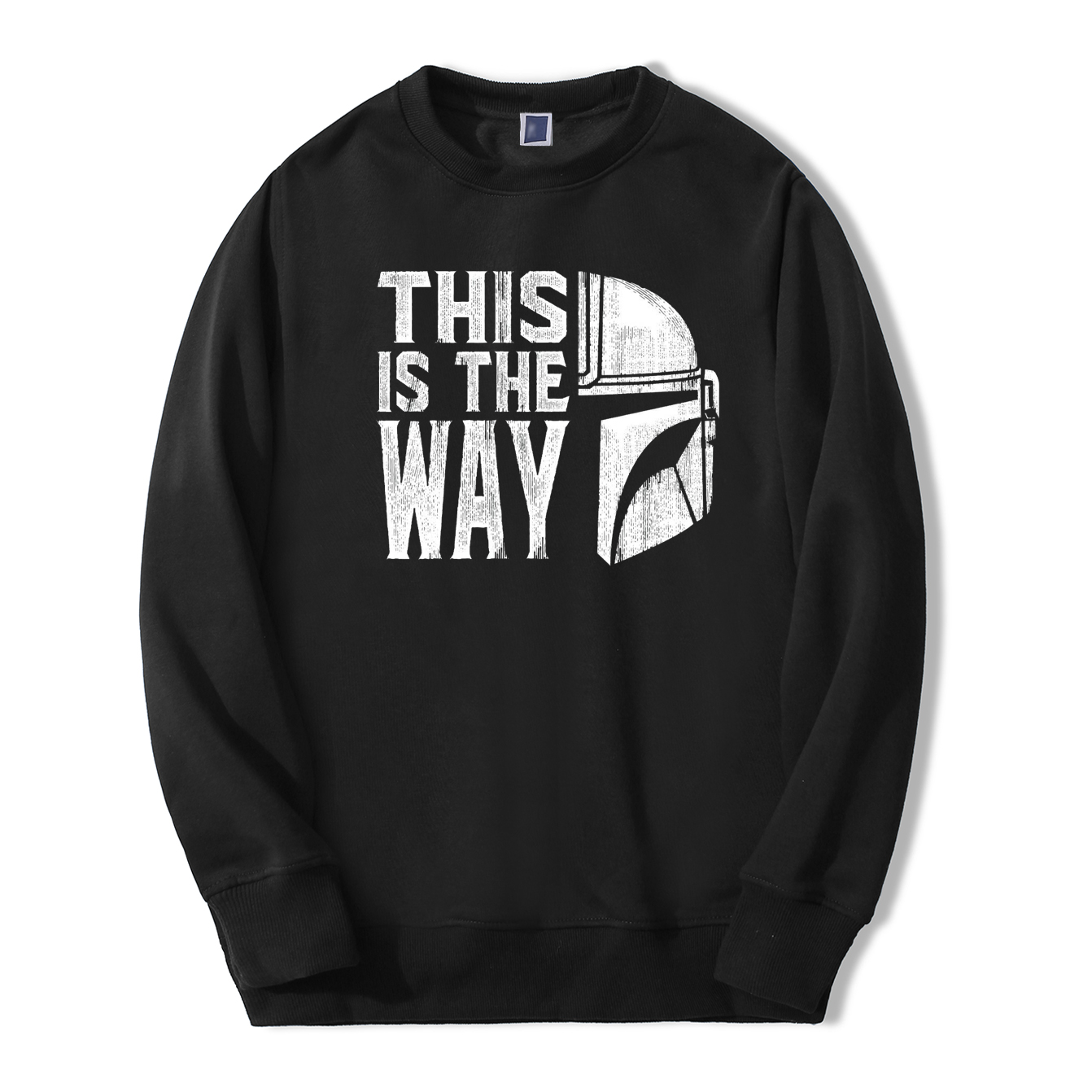 TV Show Mandalorian Way Men Sweatshirt Hoodies 2020 Spring Autumn Star Wars Streetwear Hip Hop Fashoin This Is My Way Pullover