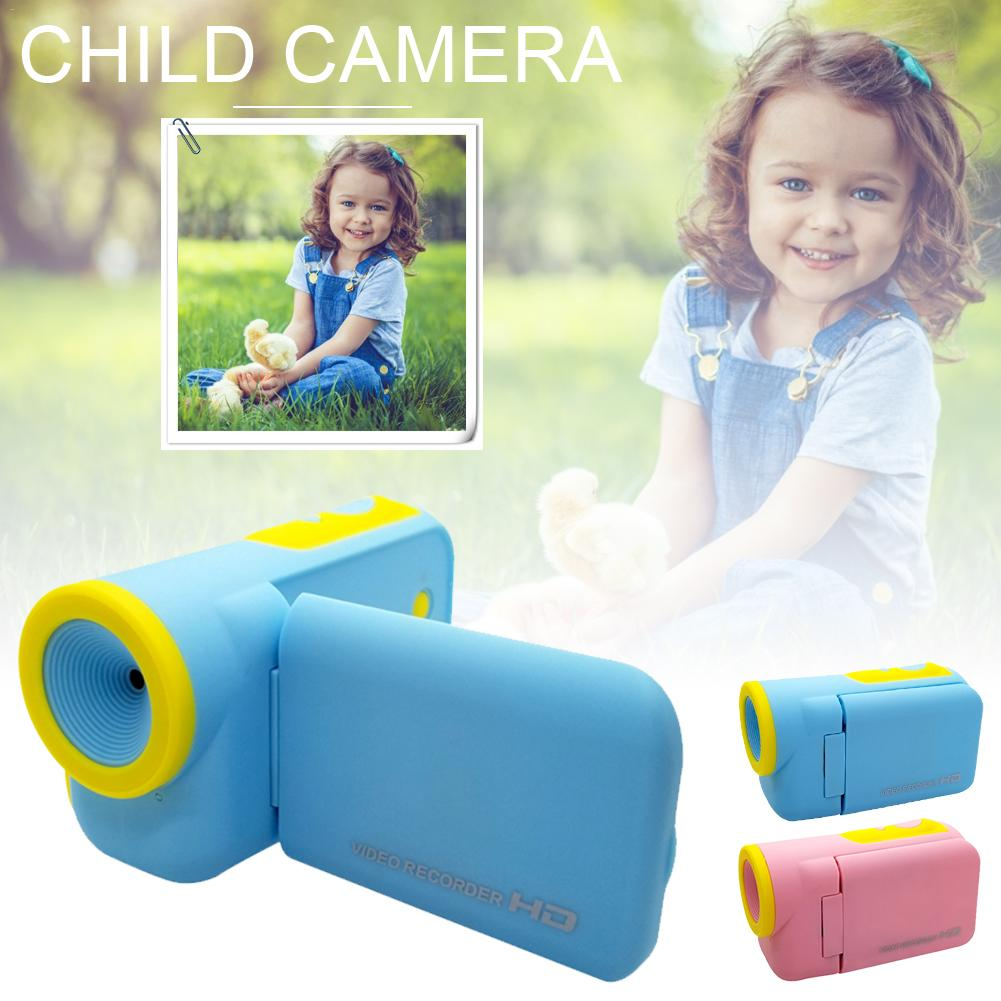Mini Children Digital Video Camera DV W/ Cartoon Stickers Christmas Festival Gift High-Definition Cameras Child Toy