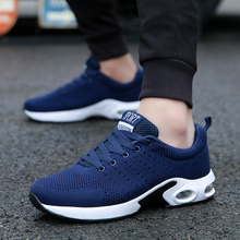 Buy 2019 Women Men Casual Shoes Summer Outdoor Breathable Work Shoes Men Sneakers Mesh Shoes Air Cushion Male Non-slip Adult Shoes directly from merchant!