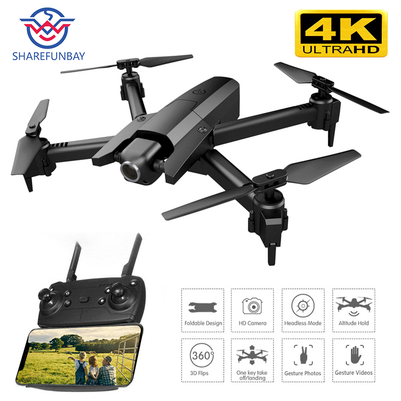 Global Drone 4K Drones with Camera HD RC Helicopter Foldable Quadcopter FPV Quadrocopter Drone X Pro Dron VS Drone E58 E520S image
