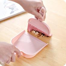 Brush Dustpan-Set Sweep-Cleaning-Brush Broom Keyboard Small Mini Desktop Home for School