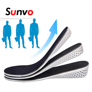 EVA Ultra Light Height Increase Insoles Memory Foam Cushion Pads for Men Women Heel Lift Breathable Sport Shoe Insole Insert Pad