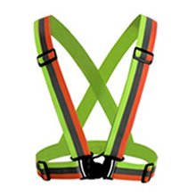 Reflective Straps Night Running Reflective Clothing Reflective Vest Adjustable Safety Vest Reflective Elastic Band