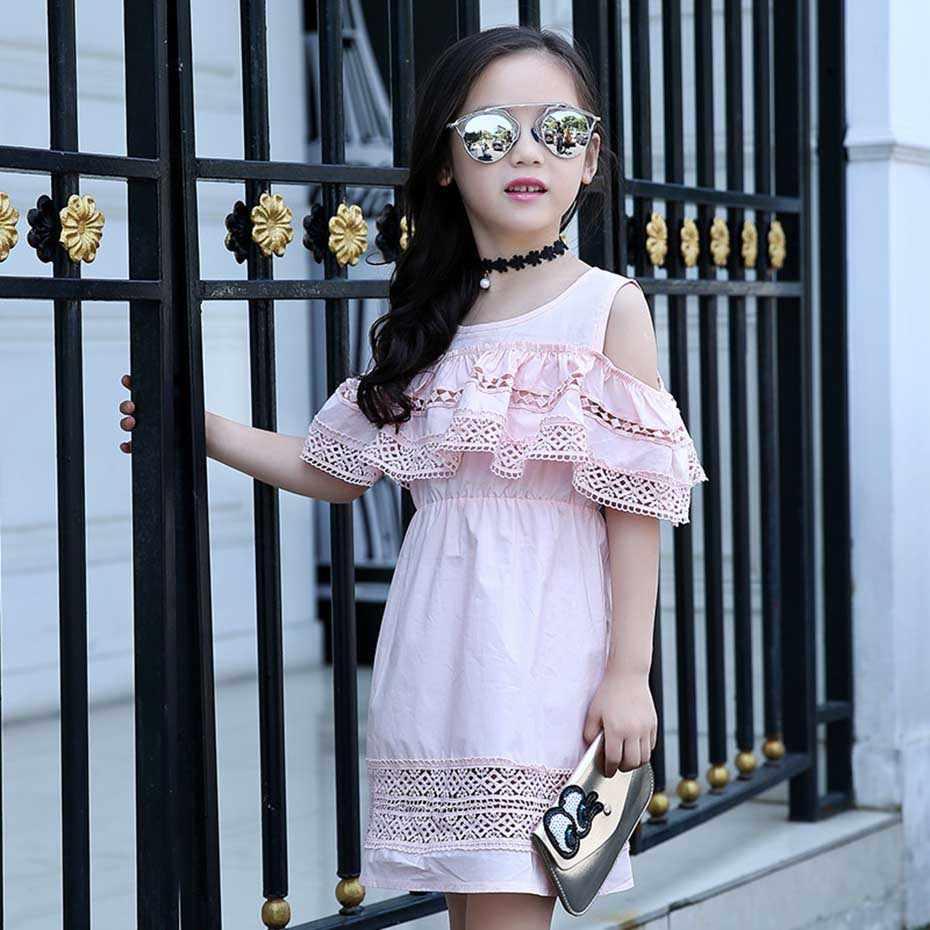 Vestido para meninas, vestido para meninas; vestidos infantis de renda; vestidos para meninas; roupas de verão para meninas; 6, 8, 2020 10 12 14 ano