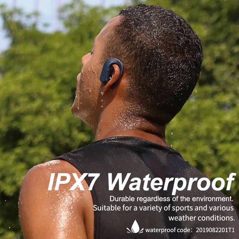 GGMM T1 TWS Bluetooth Tai Nghe Thể Thao 9D Stereo HiFi BT V5.0 Tai Nghe Nhét Tai Không Dây IPX7 Chống Nước 36Hrs Chơi Thời Gian Cảm Ứng điều Khiển