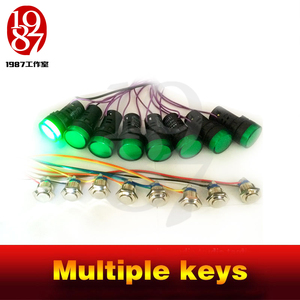 Image 5 - 2016 new Multiple keys real life room escape prop tools press button in sequence turn on the light and run awayfrom chamber room