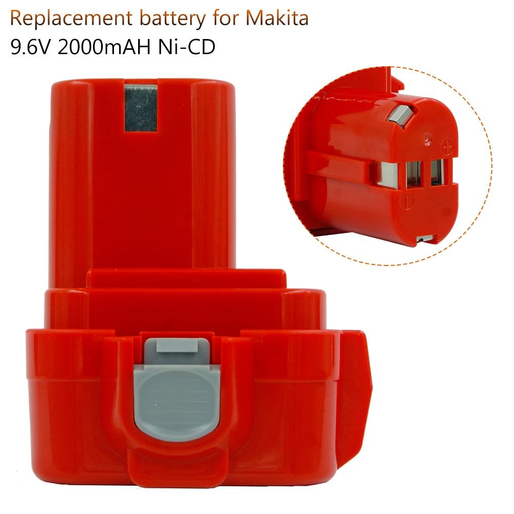 PA09 9,6 V 2000 мАч Ni CD Замена Батарея для Makita 9100 9101A 91019120 9122 6207D 6261D 192595 8 192596 6 отвертка акумуляторная батарея Перезаряжаемые батареи      АлиЭкспресс