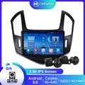 Автомагнитола для Chevrolet Cruze J300 J308 2012-2015, мультимедийный видеоплеер с GPS-навигацией, камера 360 для Android 9,0 с Carplay