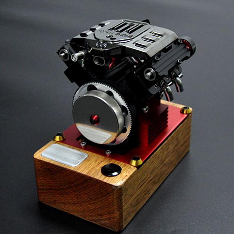 Motor de metanol de cuatro tiempos FS-V400 regalo de cumpleaños para motor V4 Tuoyan - 5
