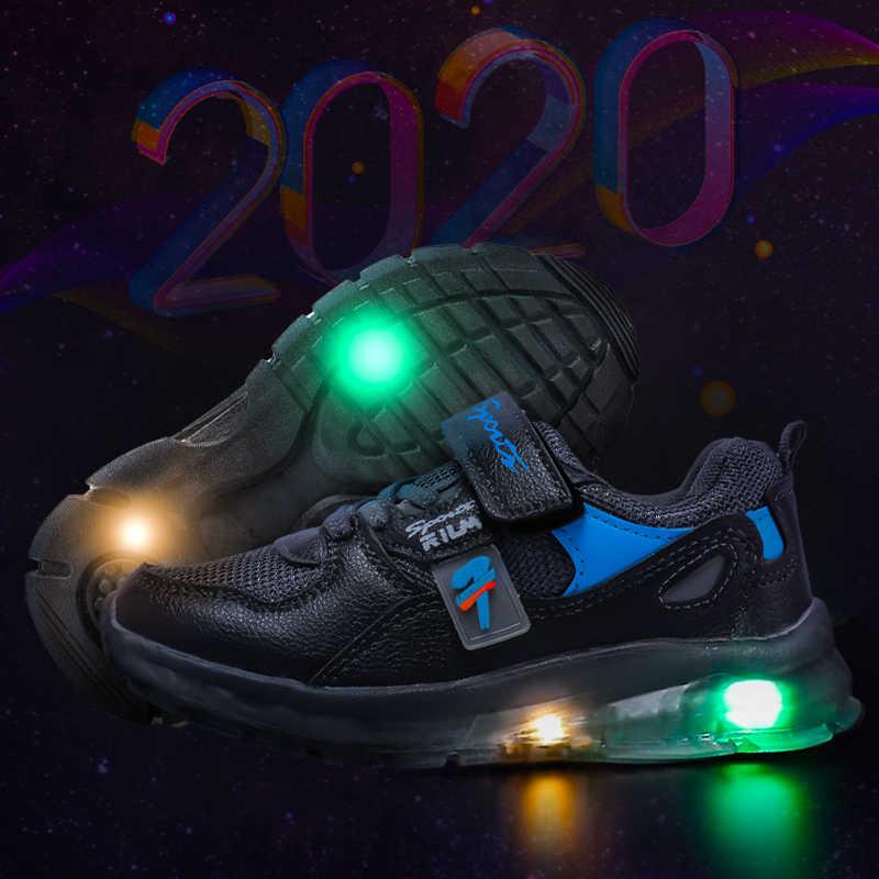 Zapatos luminosos para niños MMnun 2020, zapatillas luminosas, zapatillas deportivas para niños, tallas 26-31
