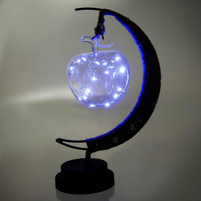 Crafts Moon Night Lights Gl Pendant
