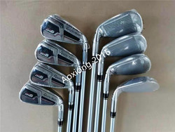 Golfclubs 2019 M6 Iron Model M6 Iron Set Irons Golf Irons 4-9PS (8 STUKS) r/S Flex Steel/Graphite Shaft Met Head Cover