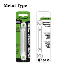 Universal Extension Wrench DIY Extension Wrench Automotive Tools Wrench Sockets Transform Joint 1/2 Turn 1/4 Conversion Head Kit