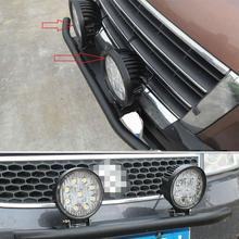 цена на GloryStar License Plate Front Mounting Bracket Holder Led Light Bar Mounting License Plate Frame