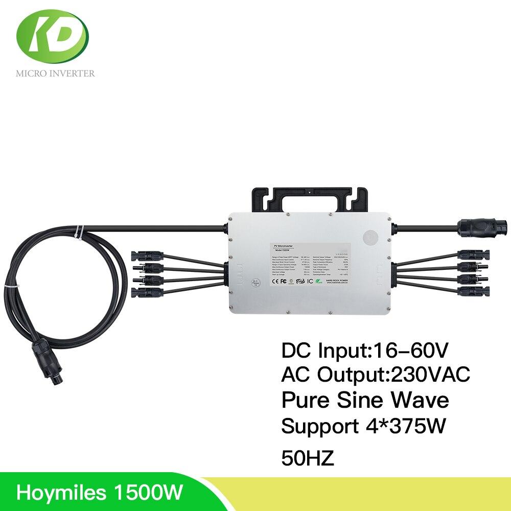 Hoymiles Mi-1500 1500W Solar Micro ...