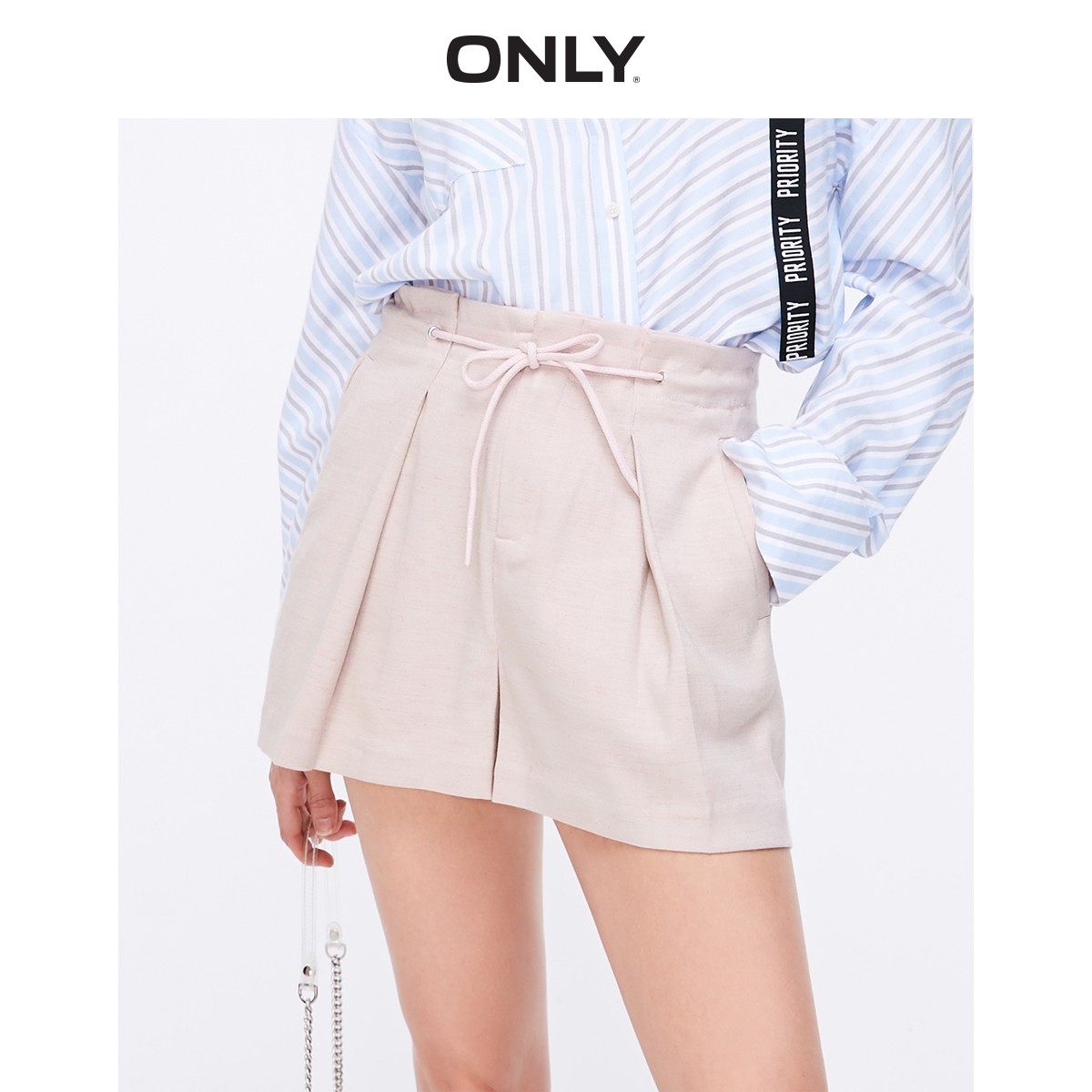 ONLY Women's Loose Fit A-lined Shorts | 119115509