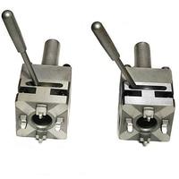 Máquina de faísca erowa dispositivo elétrico pequena mão chuck ferramenta eletrodo chuck sistema 3r braçadeira
