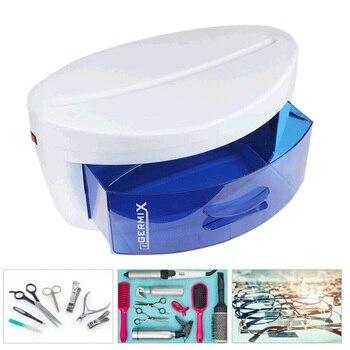 Electric Sterilizer For Nails Ultraviolet Light Sterilizer Box Nail Tools UV Disinfection Cabinet Nail Art Tool Sterilizer Box цена 2017