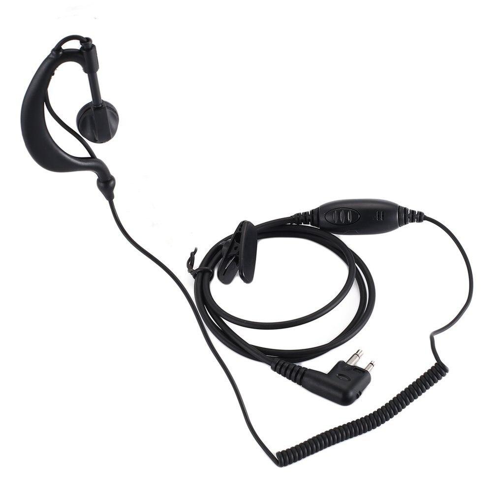 Auriculares intrauditivos PTT con micrófono para Motorola Talkabout, audífonos intrauditivos portátiles con micrófono para Radio CB CP88 CP040 CP100 CP110
