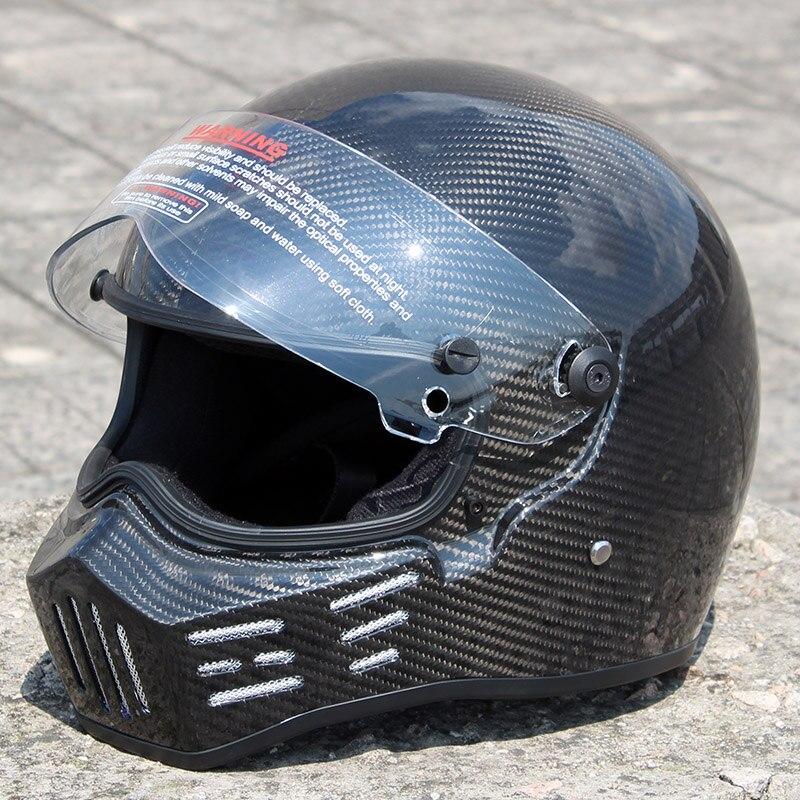 ATV-8 TOP Gear StarWars Simpson Stickers Model Motorcycle Helmet Racing Moto Casco Capacete  Carbon Fiber