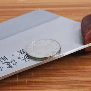Image 3 - קליבר סכין יפן מטבח שף סכיני עץ ידית בשר פירות ירקות דגים הקצב סכין קופיץ סיני גבוהה פחמן סכינים