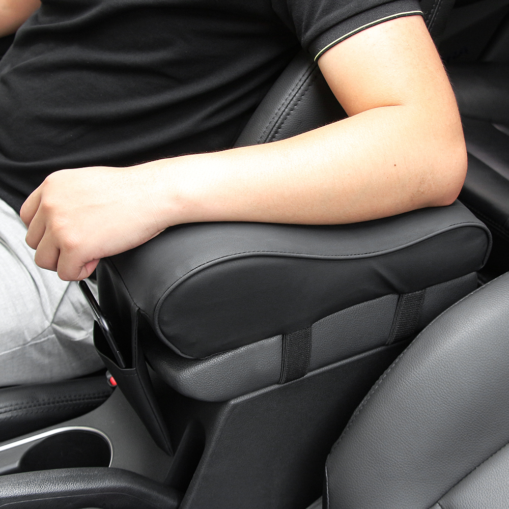 Compartimento central para coche de cuero de reposabrazos pad para Toyota Camry Corolla RAV4 Yaris Highlander/Land Cruiser/PRADO Vios Vitz/Reiz Prius