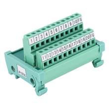 SCSI adaptateur de Signal de panneau | Panneau, bornier, 35mm adaptateur de Signal, Module de relais AWG 22-16 20P